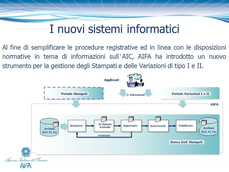 I nuovi sistemi informatici Al fine di semplificare le procedure registrative ed in linea con le disposizioni normative in tema di informazioni sullAI