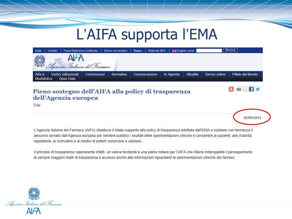 LAIFA supporta lEMA