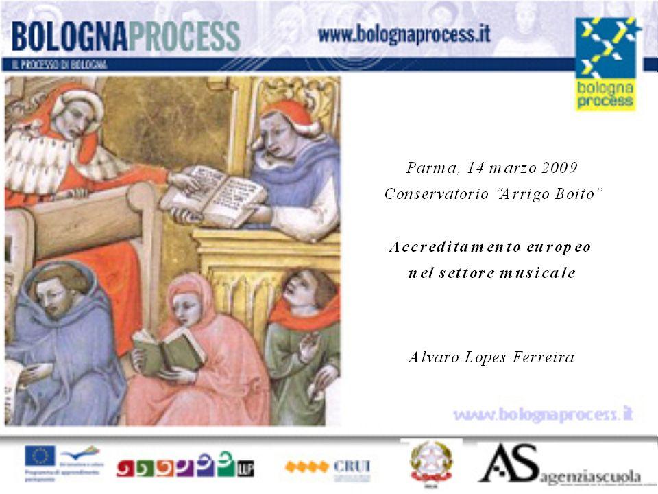 Seminario di approfondimento sul Processo di Bologna Alvaro Lopes Ferreira Terni, 15 ottobre 2008 IMP Briccialdi www.bolognaprocess.i t