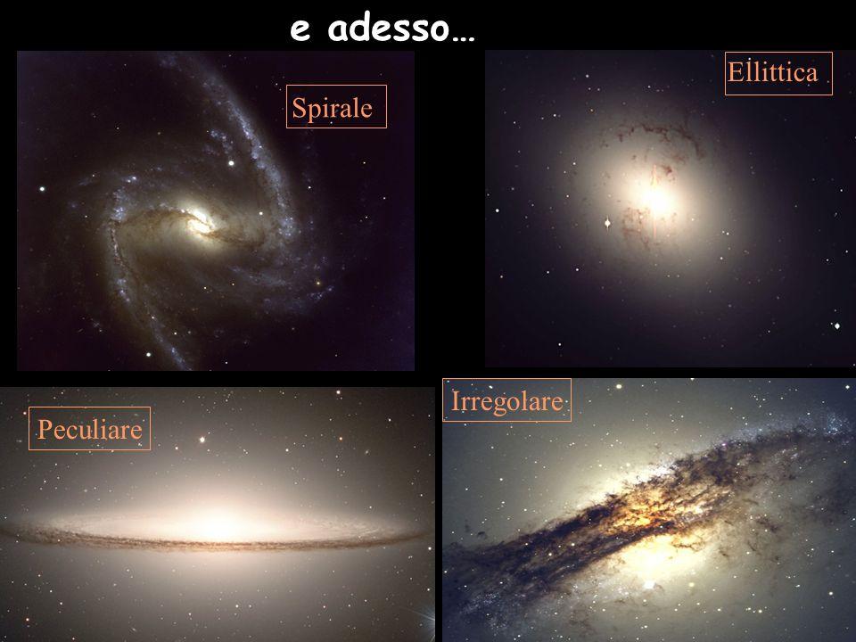 Noi siamo qui 100.000 anni luce La via Lattea ~100 miliardi di stelle