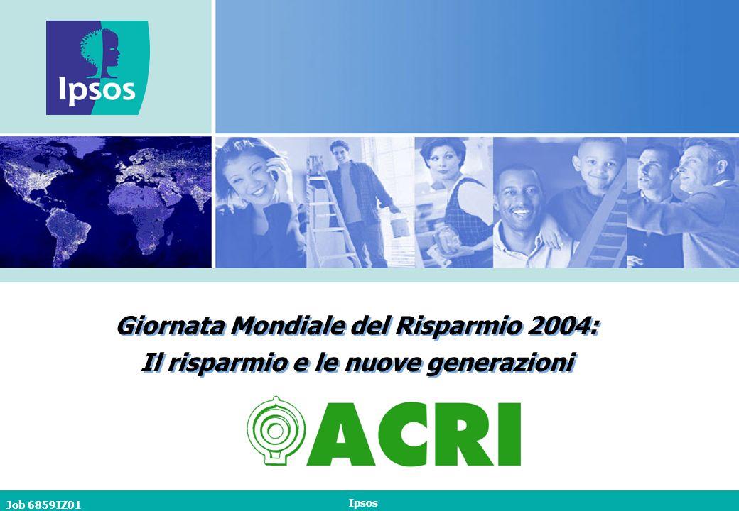 Job 6859IZ01 Ipsos 42 Interesse per limpiego dei risparmi a favore dello sviluppo economico dellItalia B10.