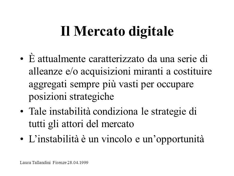 E-journals Economie significative con: 1) aggregati meno consistenti ma coesi 2) condivisione degli abbonamenti 3) razionalizzazione degli abbonamenti cartacei Laura Tallandini Firenze 28.04.1999