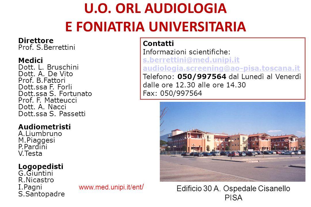 Riabilitazione logopedica Elettrofisiologia Audiologia Infantile