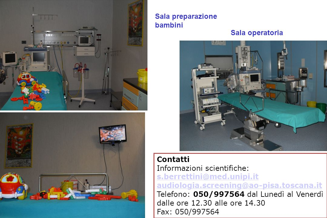 Sede Ipoacusia TRASMISSIVA NEUROSENSORIALE MISTA (trasmissiva e neurosensoriale) CENTRALE Cocleare 95% Neurale 5% (forme complesse) Ipoacusie permanenti infantili