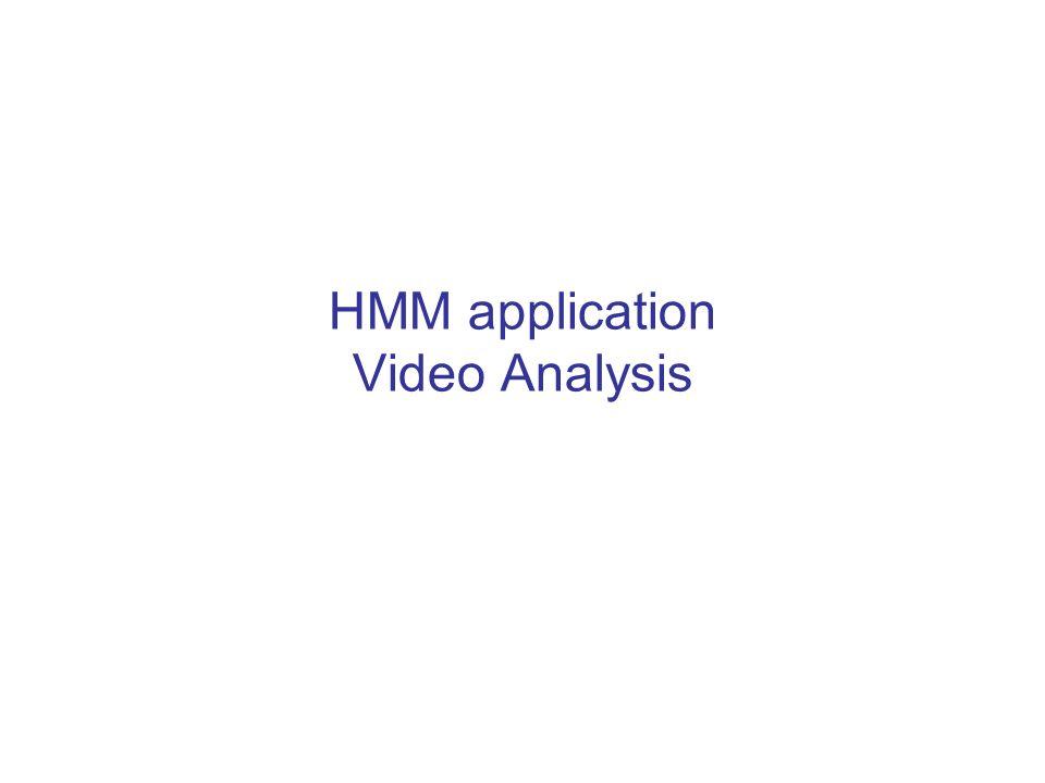 HMM application Video Analysis