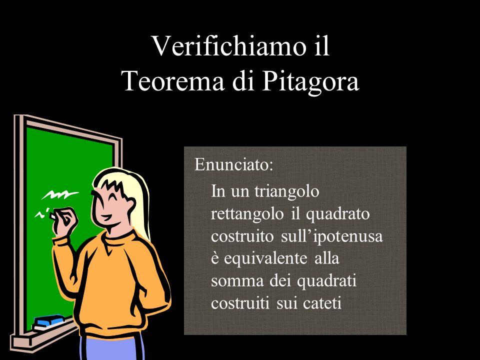 IL TEOREMA DI PITAGORA PABB1102- Lidia Buccellato Mod. 4- Ambienti di Apprendimento e TIC