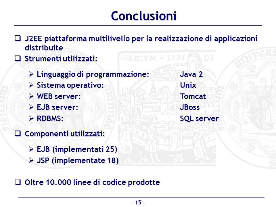 J2EE piattaforma multilivello per la realizzazione di applicazioni distribuite J2EE piattaforma multilivello per la realizzazione di applicazioni dist