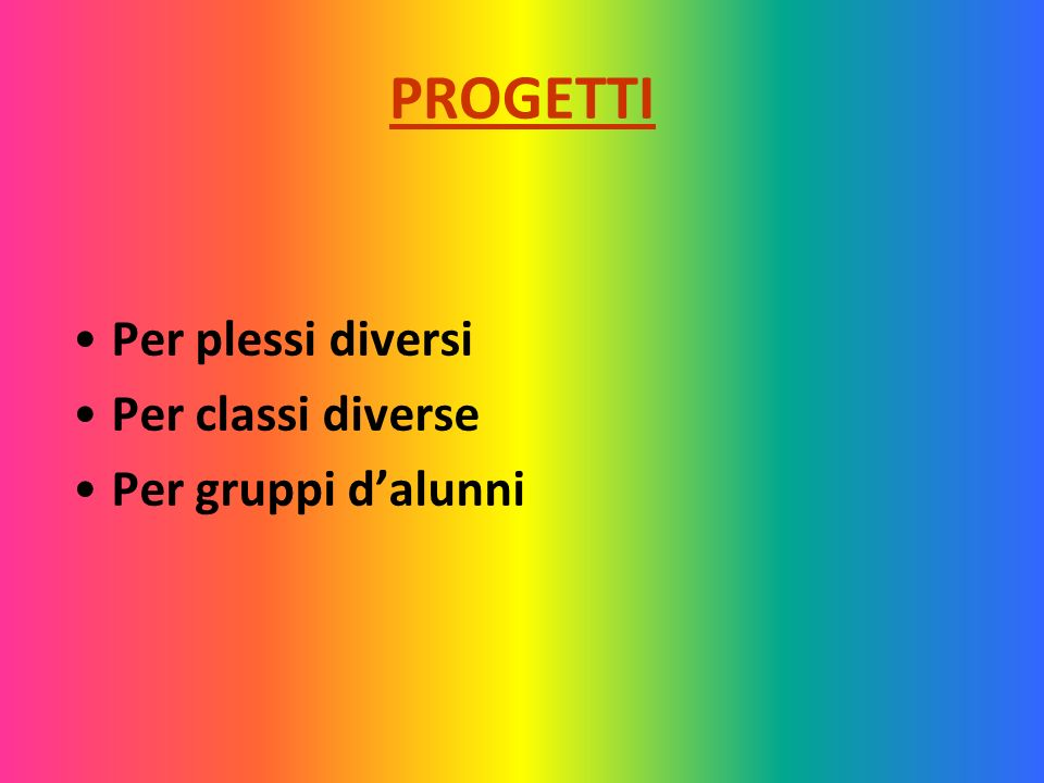 CORO SCOLASTICO Esperta: L.Giusti Referente: ins.