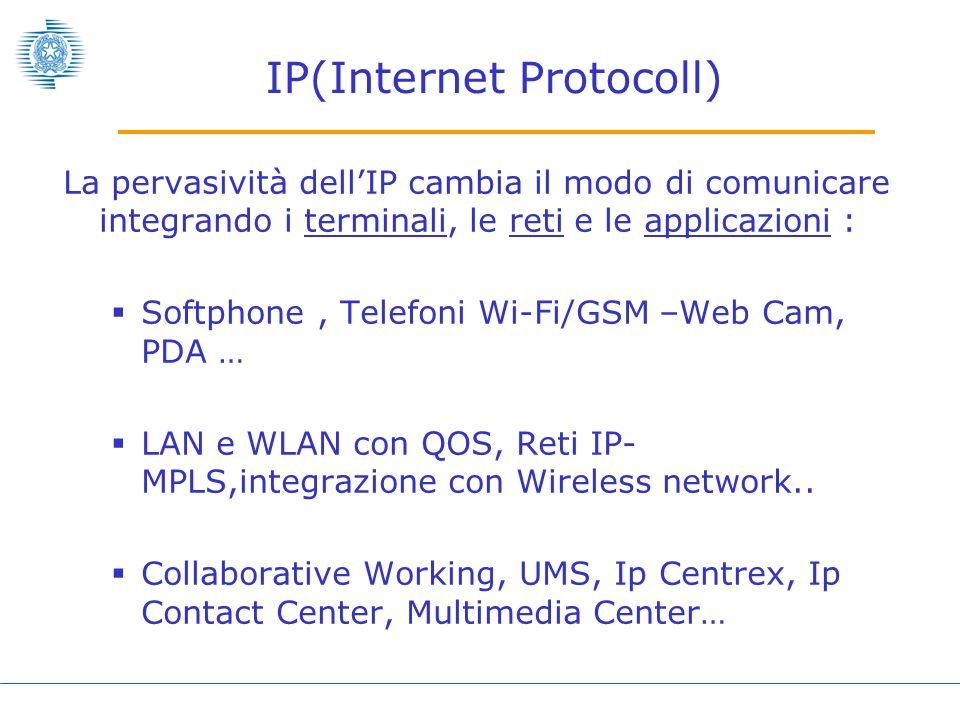 Servizi in mobilità Internet M.O.