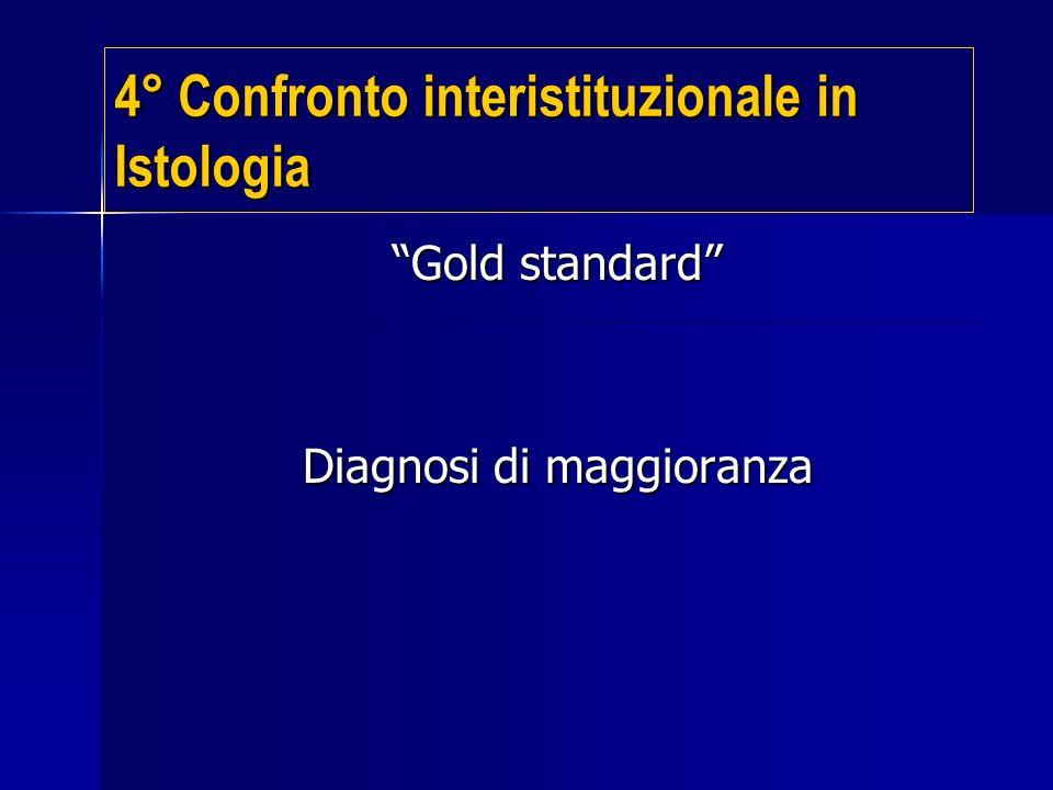 Gold standard Diagnosi di maggioranza