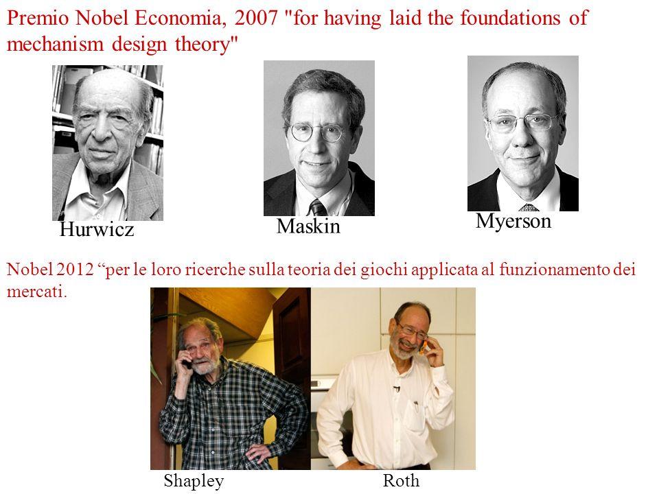Premio Nobel Economia, 2007