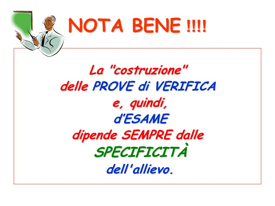NOTA BENE !!!! La