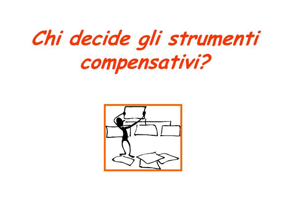 Chi decide gli strumenti compensativi?