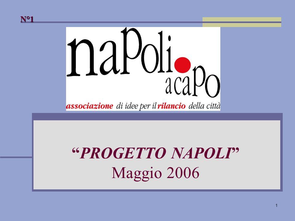1 PROGETTO NAPOLI Maggio 2006 N°1
