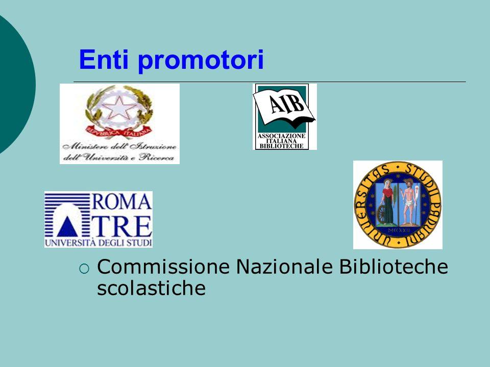 Enti promotori Commissione Nazionale Biblioteche scolastiche