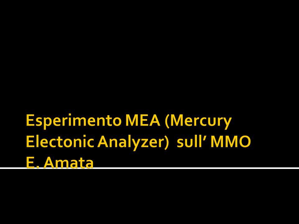 MEA è realizzato da un consorzio guidato dal CESR-CNRS di Tolosa (PI Dr.