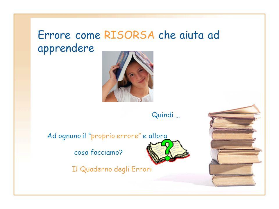 Gli errori sono necessari, utili come il pane e spesso anche belli (Gianni Rodari, Il libro degli errori, Einaudi, 1964)