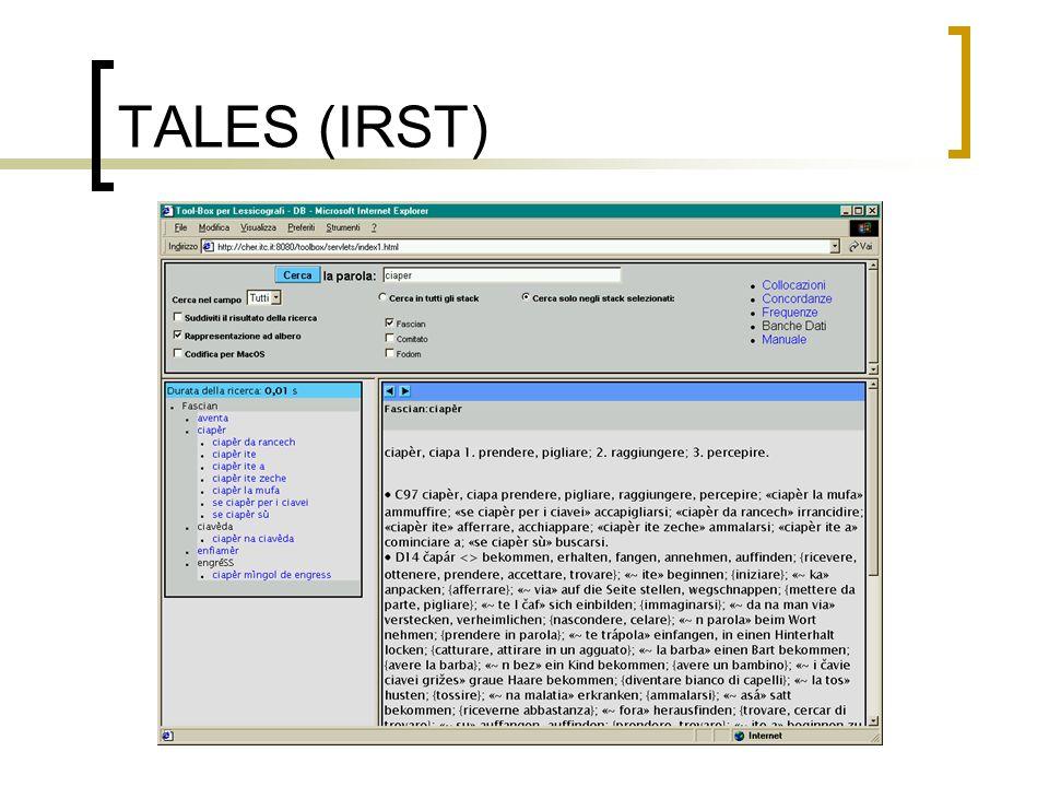 TALES (IRST)