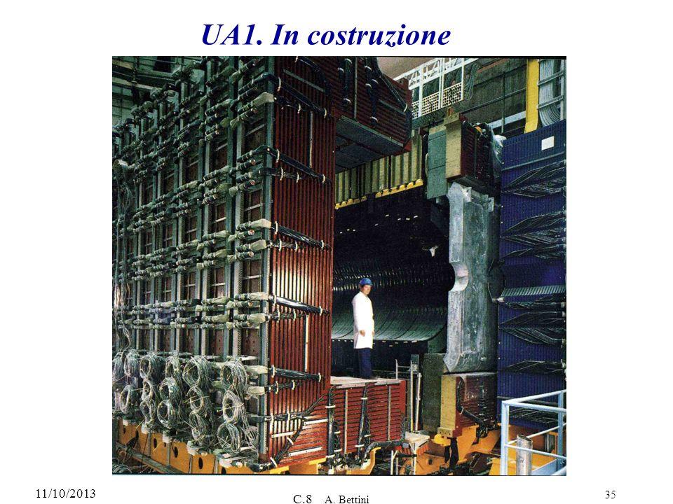 11/10/2013 C.8 A. Bettini 35 UA1. In costruzione