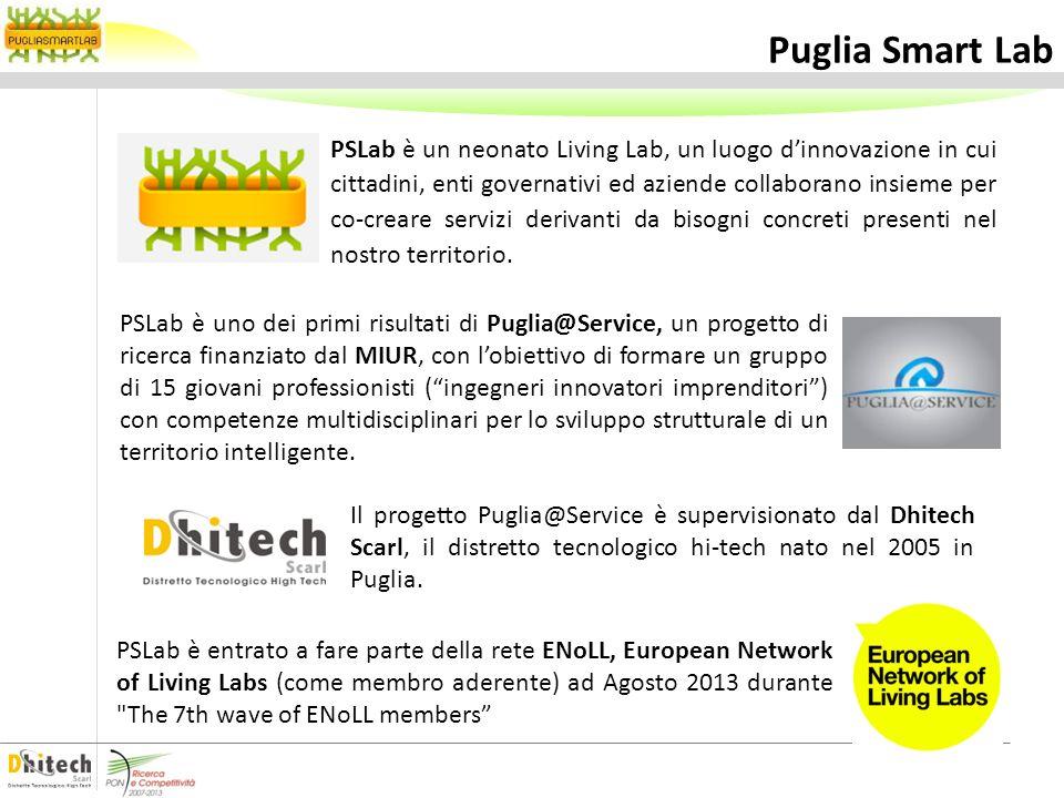PSLab è un neonato Living Lab, un luogo dinnovazione in cui cittadini, enti governativi ed aziende collaborano insieme per co-creare servizi derivanti