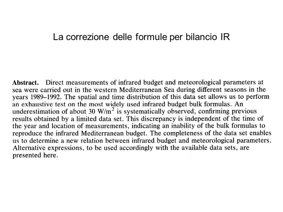 La correzione delle formule per bilancio IR