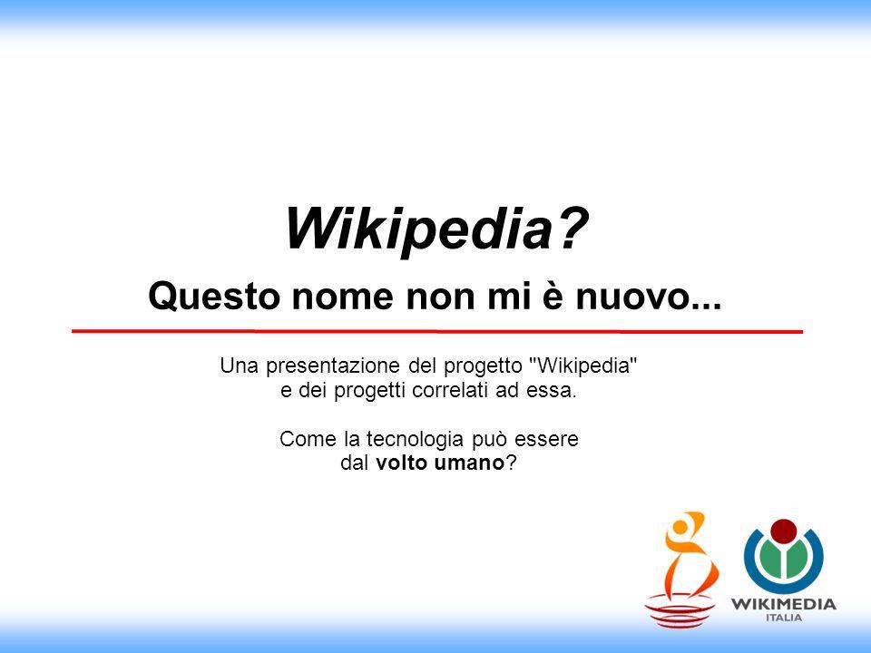 La Wikimedia Foundation La Wikimedia Foundation (WMF) è una società non-profit statunitense creata il 20 giugno 2003 con lo scopo di incoraggiare la crescita e lo sviluppo di progetti open content, basati sul sistema wiki e fornirne gratuitamente e senza alcuna pubblicità i contenuti.