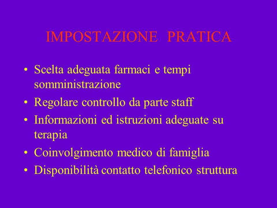 OCULISTICA, problemi relativi Interventi minori (es.