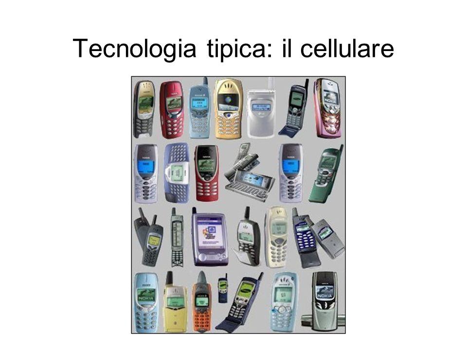 Tecnologia tipica: il cellulare