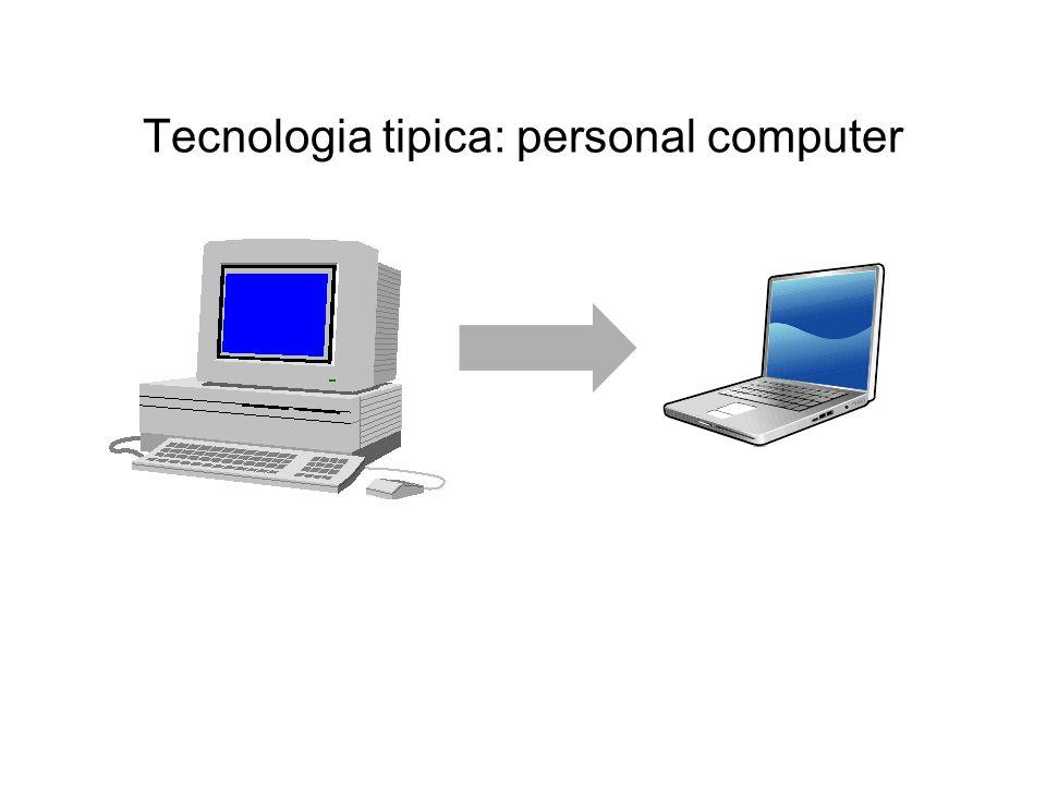 Tecnologia tipica: personal computer