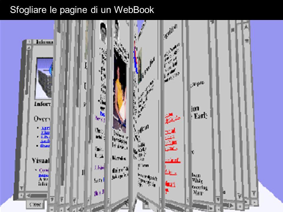 Sfogliare le pagine di un WebBook