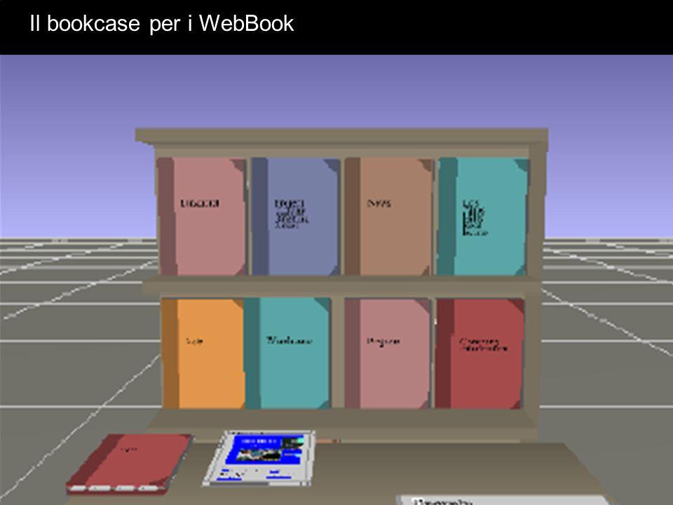 Il bookcase per i WebBook