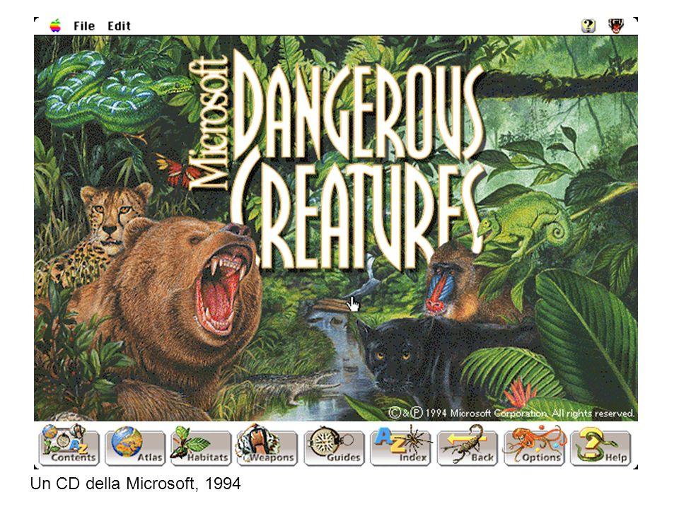 Un CD della Microsoft, 1994