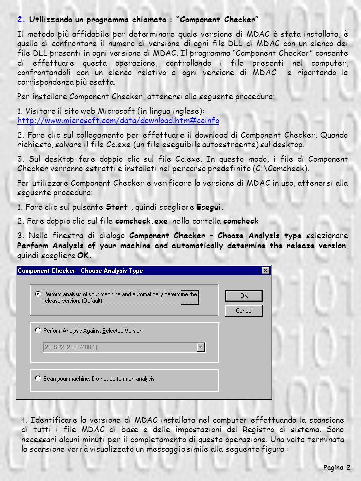 Pagina 3 5.Scegliere OK. 6.