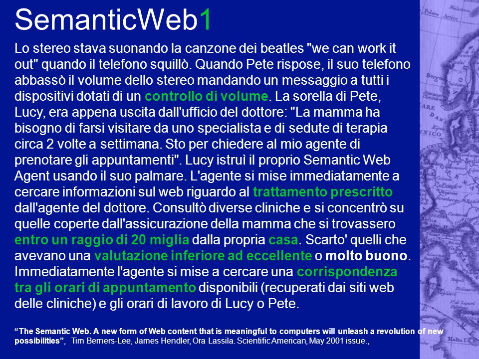 SemanticWeb1 The Semantic Web.