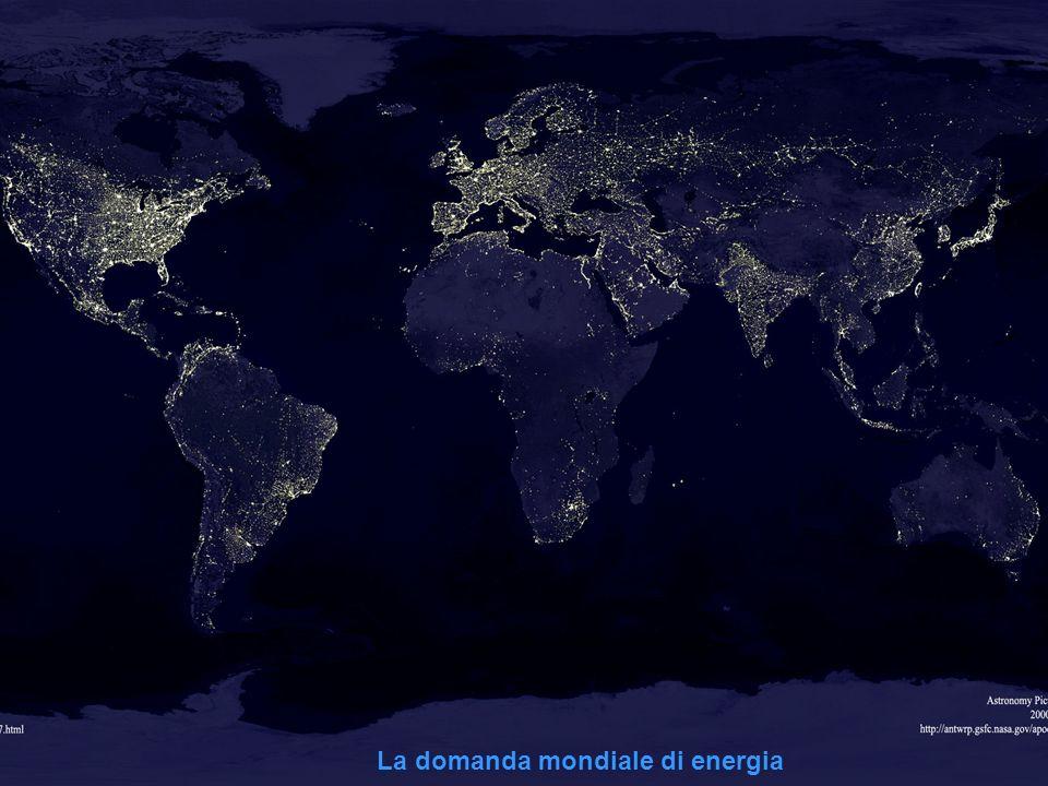 ISSI : Istituto Sviluppo Sostenibile Italia 9 La domanda mondiale di energia