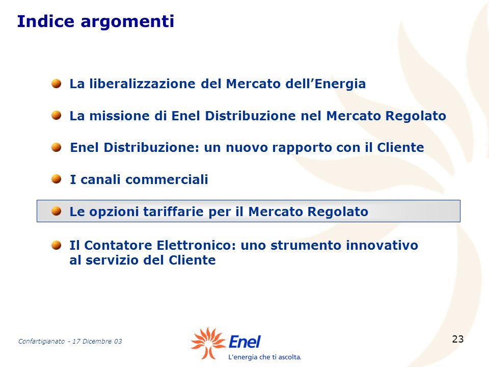 23 Indice argomenti La missione di Enel Distribuzione nel Mercato Regolato La liberalizzazione del Mercato dellEnergia Enel Distribuzione: un nuovo ra