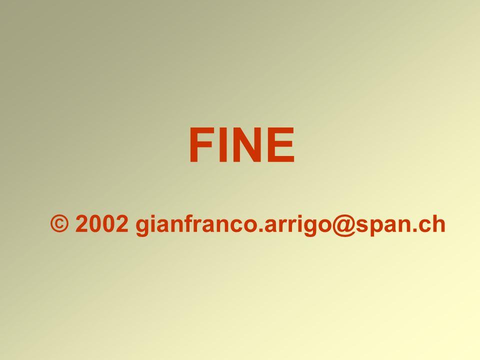 FINE © 2002 gianfranco.arrigo@span.ch