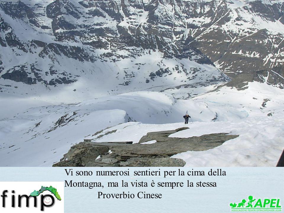 Grazie per lattenzione Vi sono numerosi sentieri per la cima della Montagna, ma la vista è sempre la stessa Proverbio Cinese