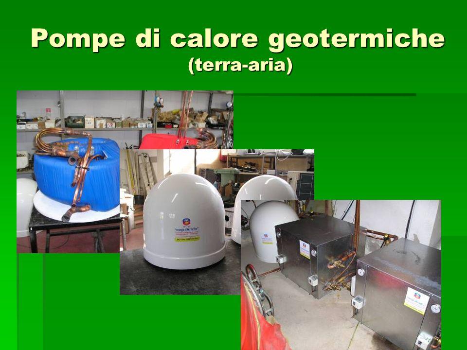Pompe di calore geotermiche (terra-aria)