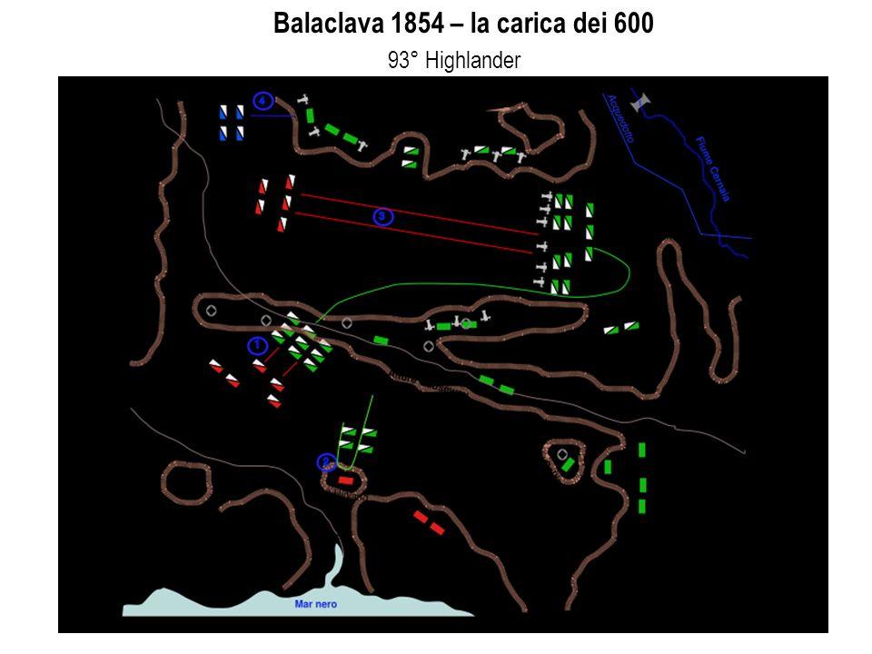 applicazioni informatiche - LEZIONE 6 10 Balaclava 1854 – la carica dei 600 93° Highlander
