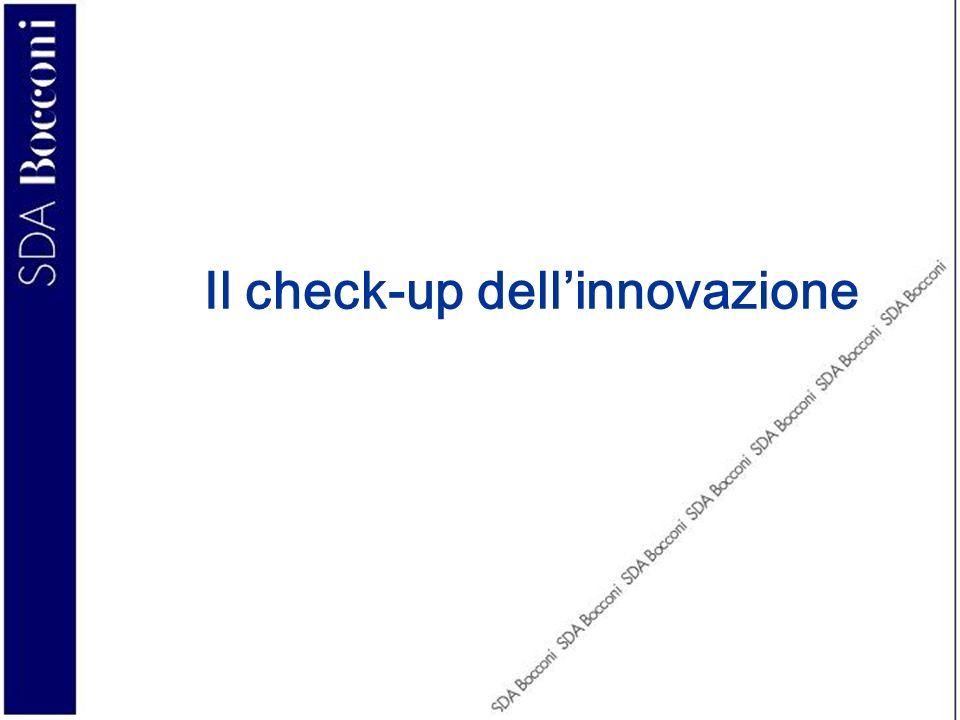 Il profilo ideale del leader dellinnovazione (3/4) La readiness al processo di innovazione IT 1.redige piani strategici formalizzati che prevedono il ruolo dellIT nellinnovazione 2.la proprietà e la direzione aziendale dimostrano unelevata consapevolezza della potenziale di innovazione dellIT 3.la responsabilità dei progetti di innovazione IT viene condivisa tra funzione IT e funzioni utenti 4.il responsabile IT risponde direttamente alla proprietà e al top management e partecipa a comitati strategici e di innovazione 5.dispone di una quota superiore al 40% del proprio budget IT dedicato a progetti di innovazione radicale (rispetto alla gestione ordinaria o allo sviluppo dei sistemi esistenti) 6.esiste una forte collaborazione fra lIT e le funzioni utenti per la sperimentazione e il test delle nuove soluzioni IT 7.le decisioni di investimento IT vengono prese dalla funzione sistemi informativi sulla base delle proprie esigenze o sulla base degli input forniti dagli utenti o da comitati interfunzionali