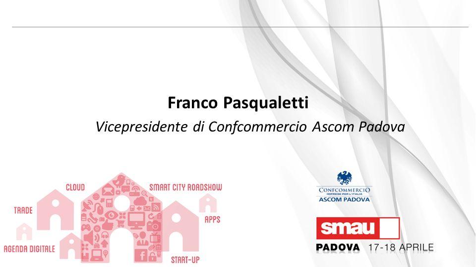 Franco Pasqualetti Vicepresidente di Confcommercio Ascom Padova