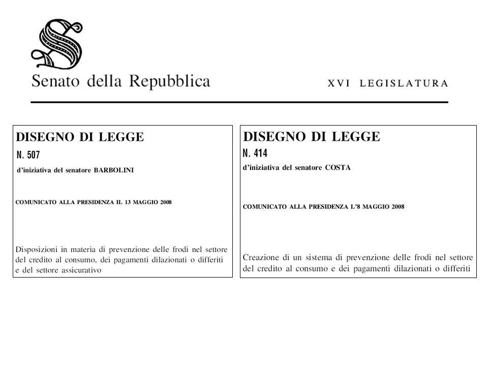 Ministero dellEconomia e delle Finanze Dipartimento del Tesoro UCAMP Indirizzo: Via XX Settembre, 97 – 00187 Roma Tel +39 06 47613535-47614637 Fax +39 06 47613089 Sito web : www.tesoro.it E-mail : segreteria.ucamp@tesoro.it Nel mese di giugno 2008 la Commissione, nel corso dellesame congiunto dei disegni di legge n.