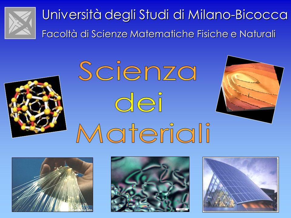 Università degli Studi di Milano-Bicocca Facoltà di Scienze Matematiche Fisiche e Naturali