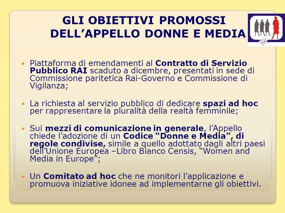 5 Piattaforma di emendamenti al Contratto di Servizio Pubblico RAI scaduto a dicembre, presentati in sede di Commissione paritetica Rai-Governo e Comm