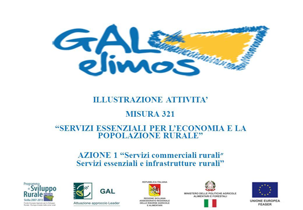 PRESENTAZIONE DELLE ATTIVITA REALIZZATE E DELLA MISURA AGGIUNTIVA Venerdì 28 dicembre 2012 Auditorium del Museo Civico di Gibellina
