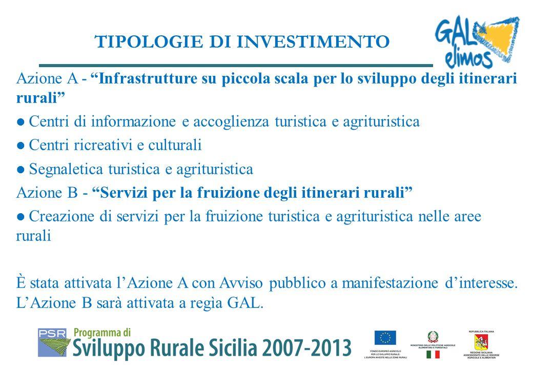 Diversificazione della attività economiche delle aree rurali.