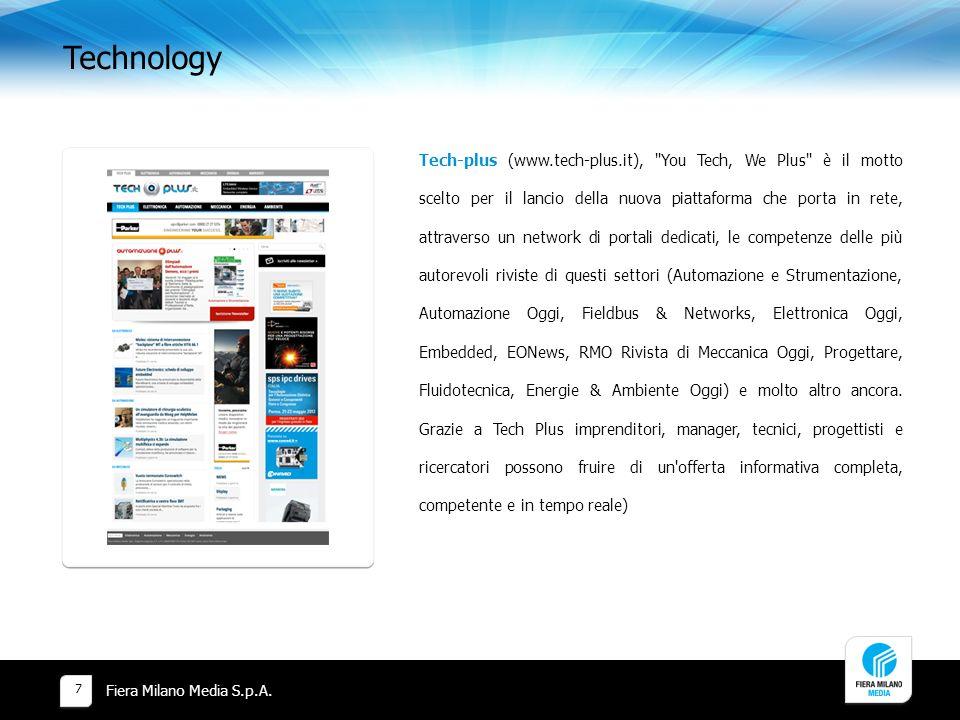 Technology Fiera Milano Media S.p.A.