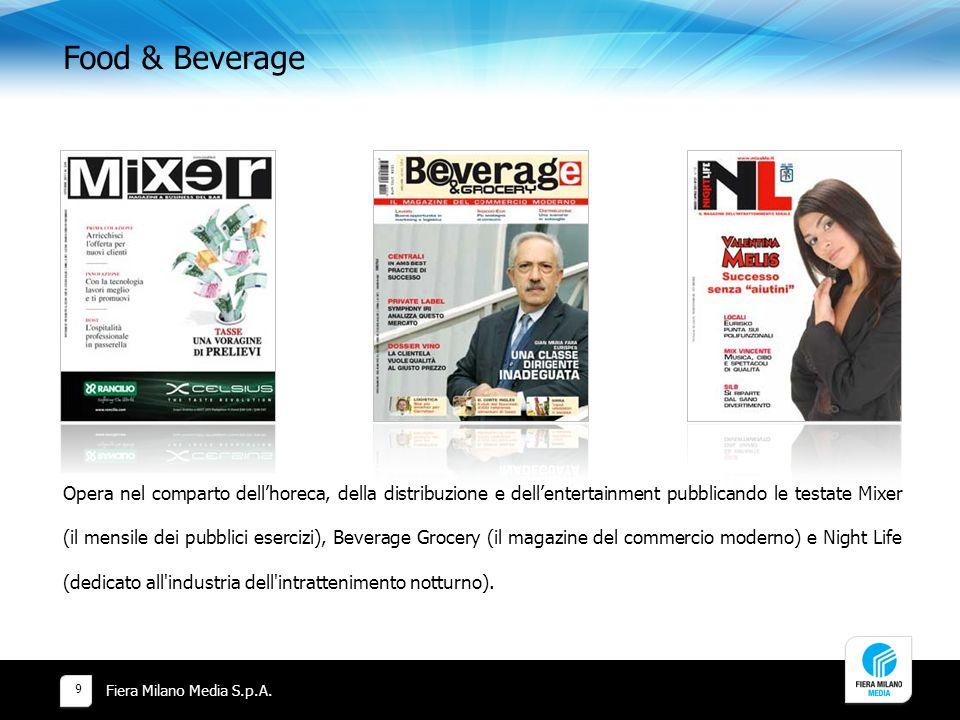 Food & Beverage Fiera Milano Media S.p.A.