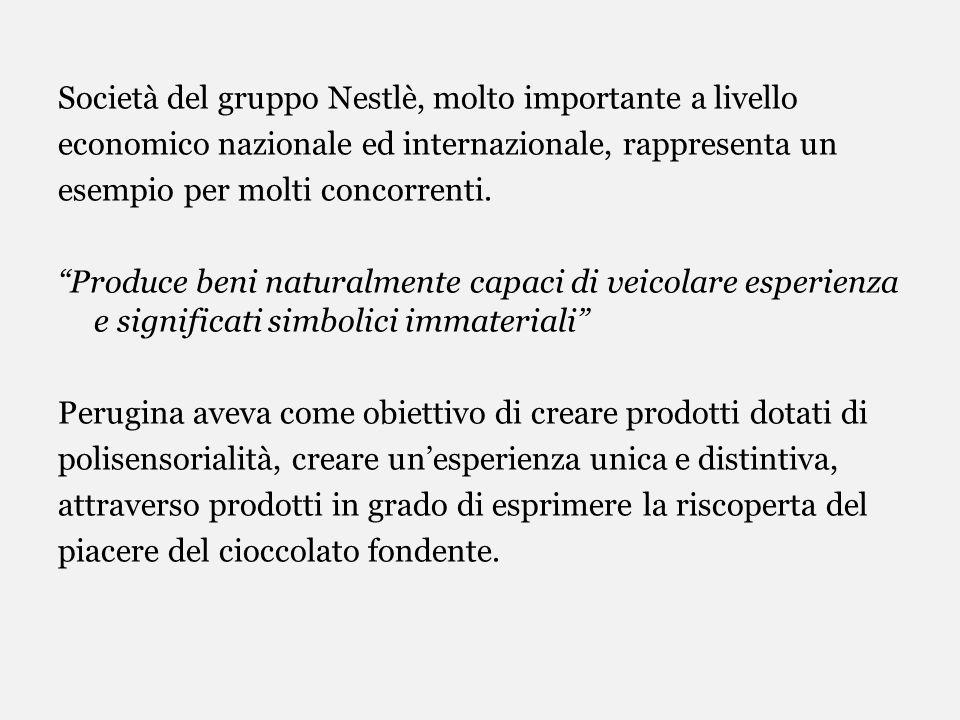 Società del gruppo Nestlè, molto importante a livello economico nazionale ed internazionale, rappresenta un esempio per molti concorrenti. Produce ben